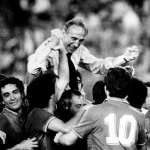Bearzot and hit team in 1982