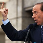Berlusconi showing the finger by Alessio85