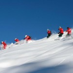 Pink, white and Cervino: emotion and skiing in Valle D'Aosta