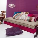 Purple, the in colour