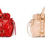 Red ruffles new handbags for Valentine's 2011 from Miu Miu