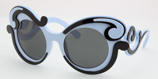 Prada Sunglasses presents Baroque Minimal Collection ...