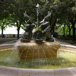 Image of a fountain in Cortona in Tuscany Italy