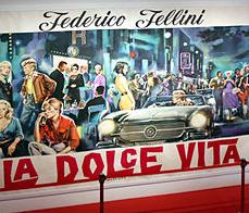 Fellini La dolce vita poster