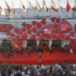Venice Film festival entrance in Lido