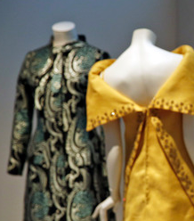 Made in Italy dresses on display