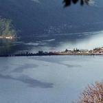 Monte San Giorgio overlooking Lake Lugano in Italy