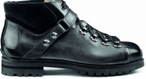 Italian made Mountain boot from Santoni