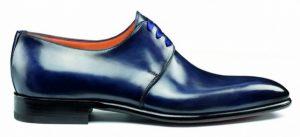 Black Santoni shoe