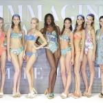 Models lining up at the 2016 Mare D'Amare beachwear salon