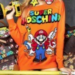 Image of the Super Moschino sweater