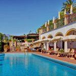 Image of the outdoor swimming pool at San Domenico Palace Hotel Taormina